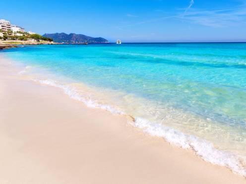 Les pieds dans l'eau à Majorque